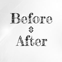 Before⇔After