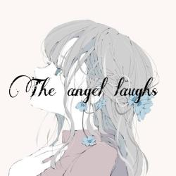 The angel laughs
