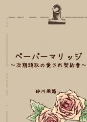 ペーパーマリッジ〜次期頭取の愛され契約妻〜