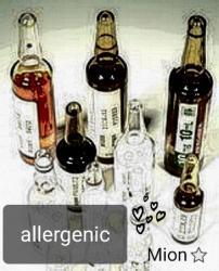 * allergenic *