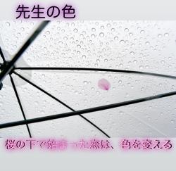 先生の色   〜桜の下で始まった恋は、色を変える〜